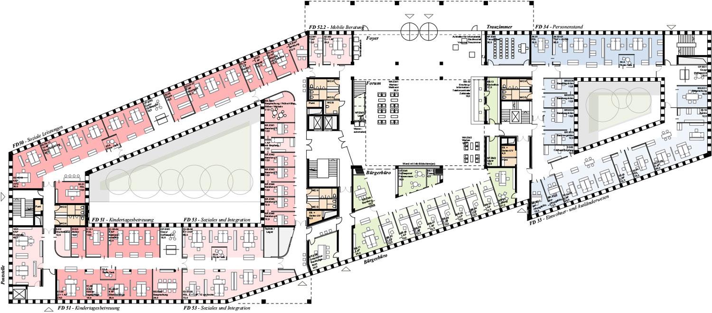 Lageplan Stadthaus